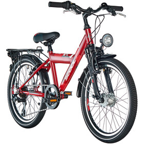 s'cool XYlite 20 7-S Steel Kids darkred matt